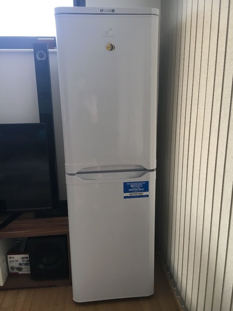 Very good condition Fridge&Freezerin Salford, ManchesterGumtree - Hi, Moving home so I have to sell my Indesit fridge&freezer. perfect condition (one year old) lots of storage 175cm tall& 55cm wide& 55cm deep collection only