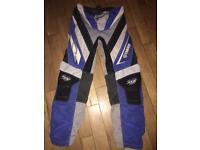 Yamaha motocross bike suit
