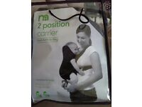 Mothercare 2 position carrier