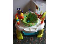 Brightstarts bounce bounce baby activity seat/bouncer