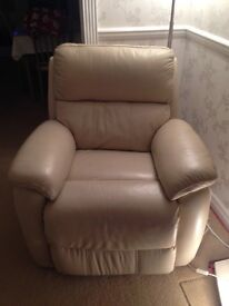 3 seater reclining sofa and armchair