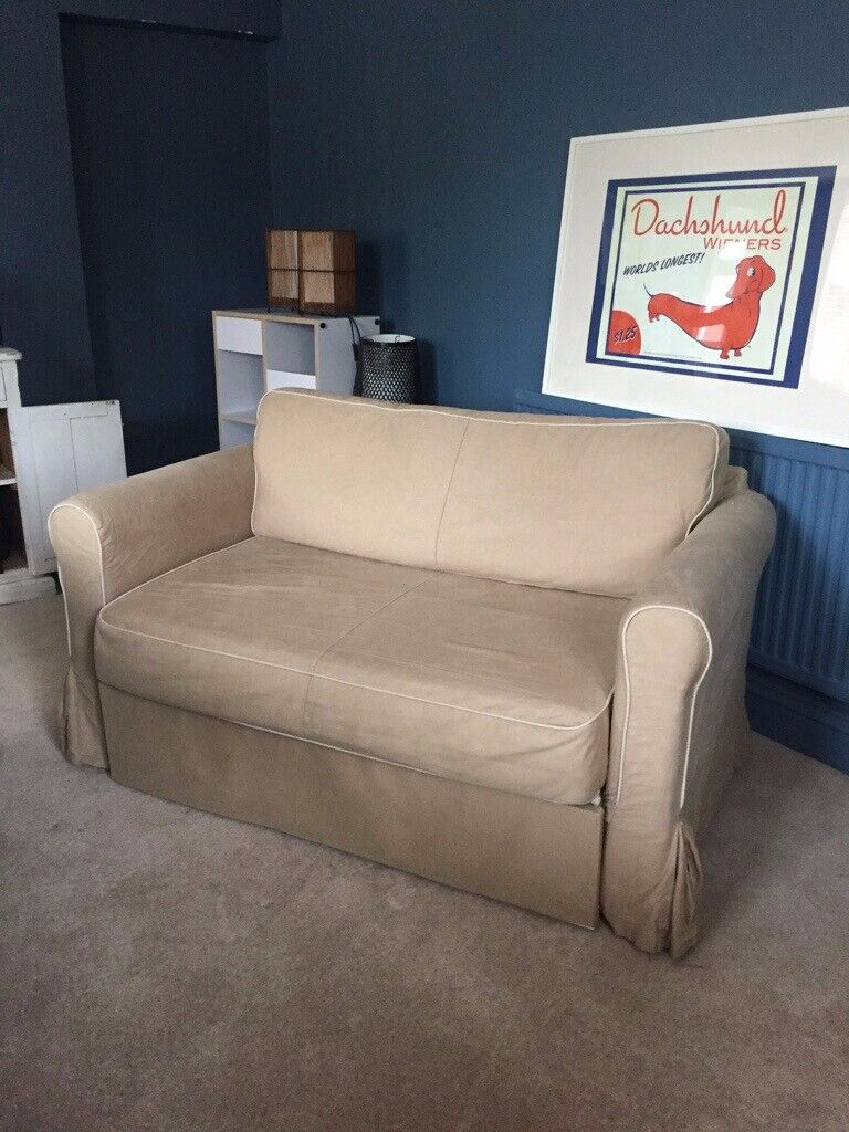 Superb Ikea Hagalund Sofa Bed 2 Seater Small In Trowbridge Wiltshire Gumtree Bralicious Painted Fabric Chair Ideas Braliciousco