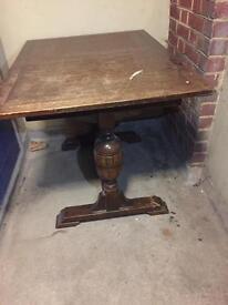 Drop leaf vintage table