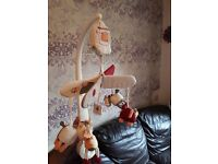 Mamas and papas cot mobile with sound