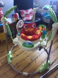 Fisher Price Rainforest Jumperoo - Great Condition