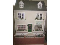 Dolls House 4 storey with all furniture