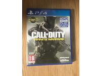 new sealed ps4 game call of duty infinite warfare