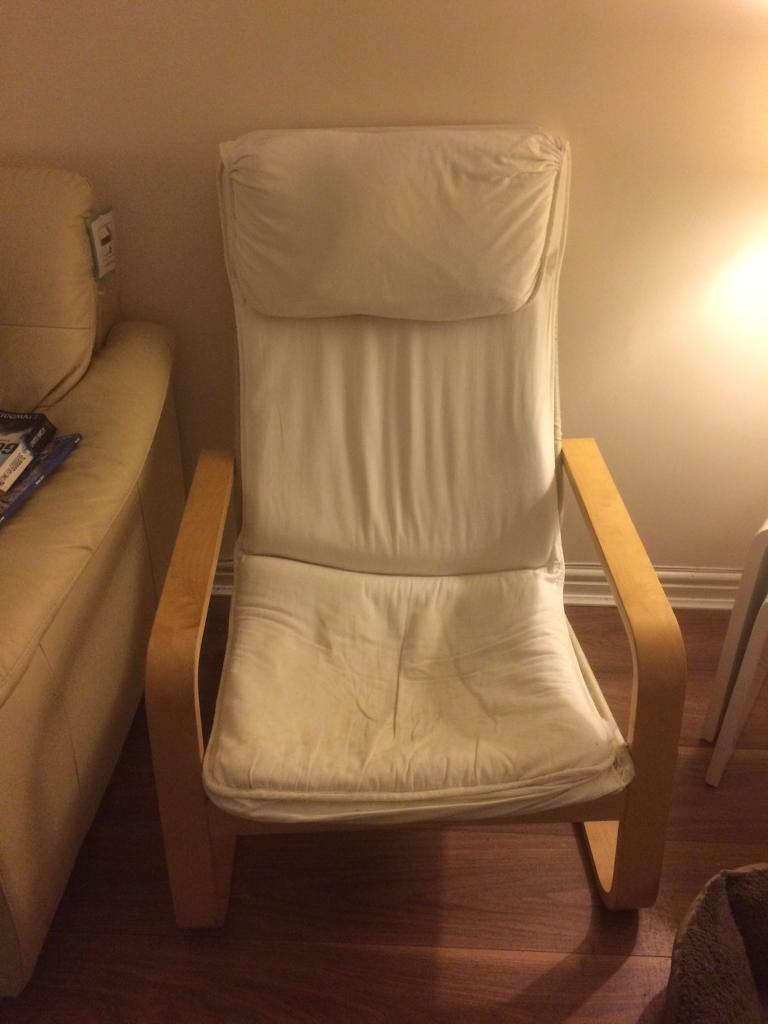 Ikea Poang Fabric chair
