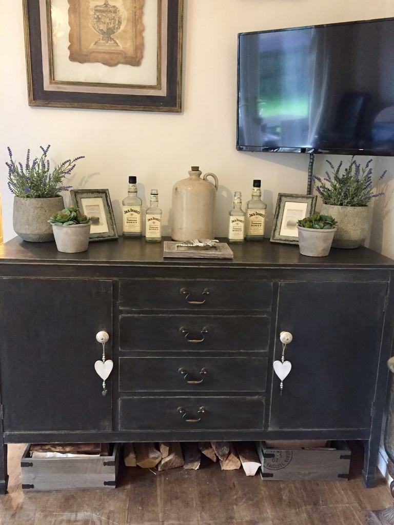 Annie Sloan painted old Sideboard
