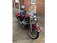 Harleydavidson road king,as new condition,comes with tomtom not shown in pictures