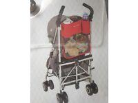Black MACLAREN Universal Buggy Stroller Pushchair Organiser - Unused with Packaging