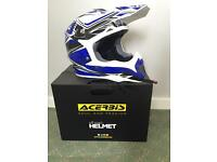ACERBIS BOMBSHELL BLUE helmet size S