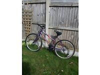 Ladies second hand mountain bike, Overall good condition