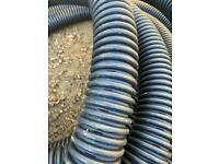 Perforated pipe drainage