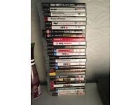 PS3 boxed with games and controllers