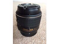 Nikon 18-55mm DX AF-S VR lens
