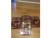 Brass Door Handles 4 Sets Brand New