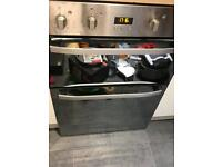 Hotpoint under counter double oven and hob