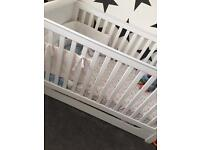 BARELY USED COT BED