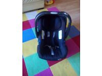 britax base and car seat
