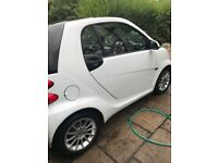 White Smart Fortwo 11 plate 17,000 miles on clock
