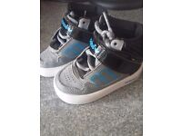 Adidas high tops (size 3 infant) in mint condition