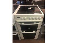 50CM WHITE ZANUSSI ELECTRIC COOKER