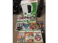 Boxed XBOX 360, Games and lips Sing a long