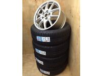 """PORSCHE CAYENNE GENUINE 19"""" ALLOY WHEELS FULLY REFURBISHED with BRAND NEW M+S TYRES"""
