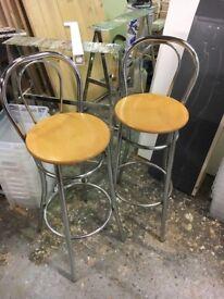 Breakfast bar stools second hand