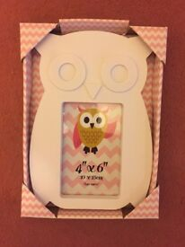 Owl photo frame.