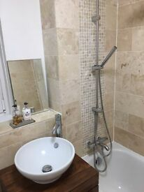 Qualified tiler available, based in North London, Price or day rate
