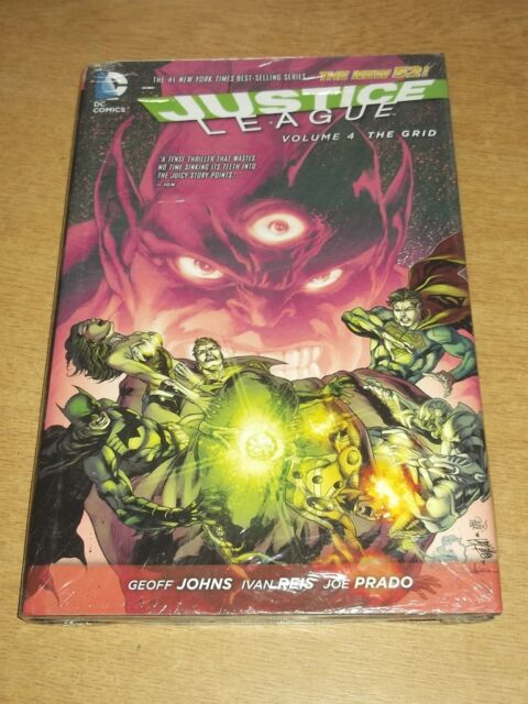 Justice League Grid Volume 4 New 52 Geoff Johns (Hardback, 2014)< 9781401247171