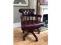 Chesterfield Captains Swivel Office Chair