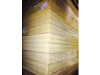 100mm 1200x2400 recticil foil faced insulation boards
