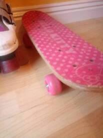 Hello Kitty Skateboard