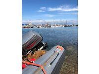 Ex RNLI SIB boat package