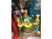 Bright Start Jumperoo bouncer; excellent condition