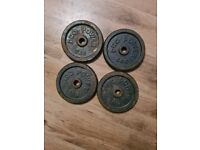 4x5kg pro power iron weights