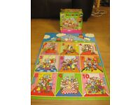 MINNIE MOUSE COUNTING GIANT FLOOR PUZZLE - IMMACULATE COLOURFUL & COMPLETE!