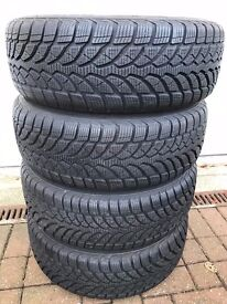 Winter Tyres. Bridgestone Blizzak 205/60R16 92H M+S Snow Runflats