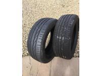 Bridgestone Turanza ER300 pair of tyres 225 55 17