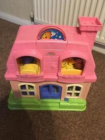 Fisher Price Little People Musical Pink House