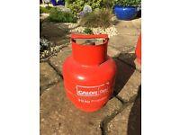 3.9kg Calor Gas Bottle - Propane - Empty