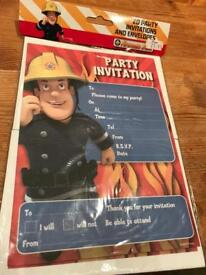 Postman pat birthday invitation pack