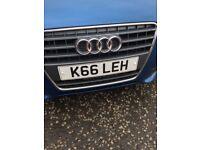 K66 LEH Number Plate (Kayleigh)