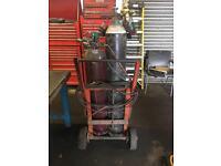 Complete gas welding set