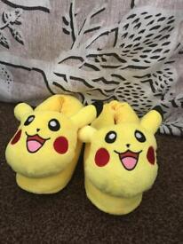 Pokemon slippers size 10/11