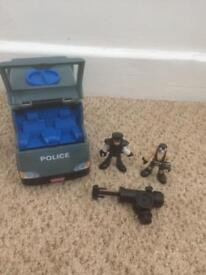 Batman police van