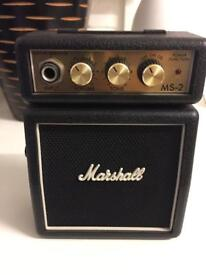 Mini Marshal guitar